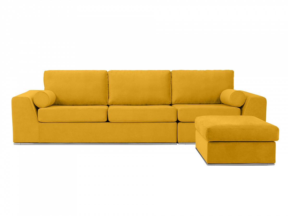 Ogogo диван igarka желтый 113352/113400