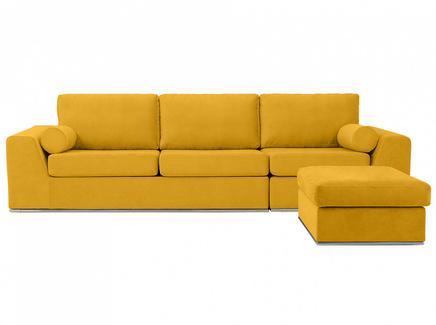Диван igarka (ogogo) желтый 300x73x180 см.