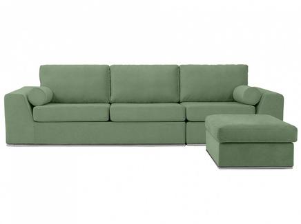 Диван igarka (ogogo) зеленый 300x73x180 см.