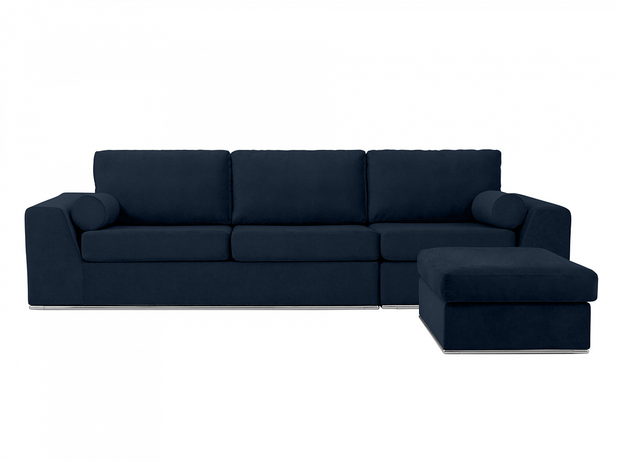 Ogogo диван igarka черный 113354/113402