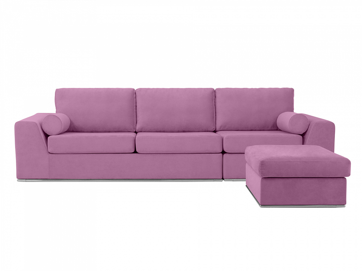Ogogo диван igarka фиолетовый 113357/8