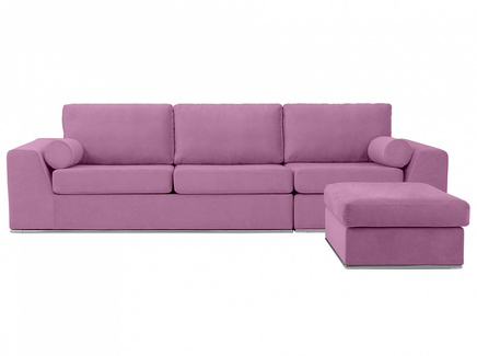 Диван igarka (ogogo) фиолетовый 300x73x180 см.