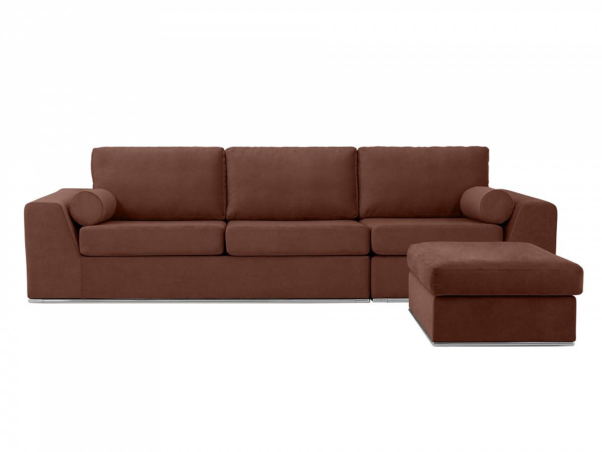Ogogo диван igarka коричневый 113358/7
