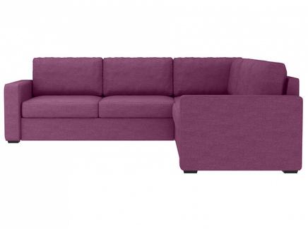 Диван peterhof (ogogo) фиолетовый 271x88x271 см.