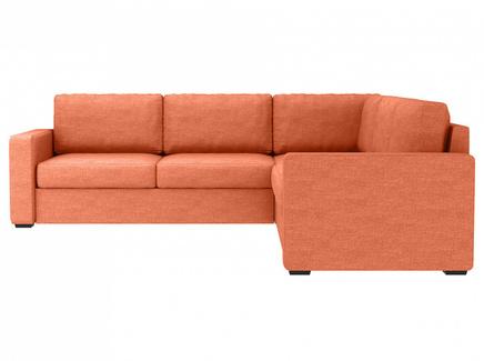 Диван peterhof (ogogo) оранжевый 271x88x271 см.