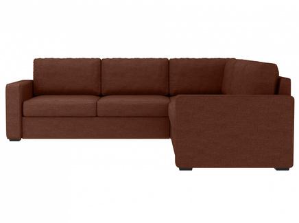 Диван peterhof (ogogo) коричневый 271x88x271 см.
