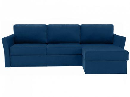Диван peterhof (ogogo) синий 282x88x170 см.