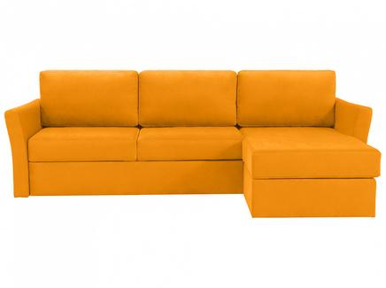 Диван peterhof (ogogo) желтый 282x88x170 см.