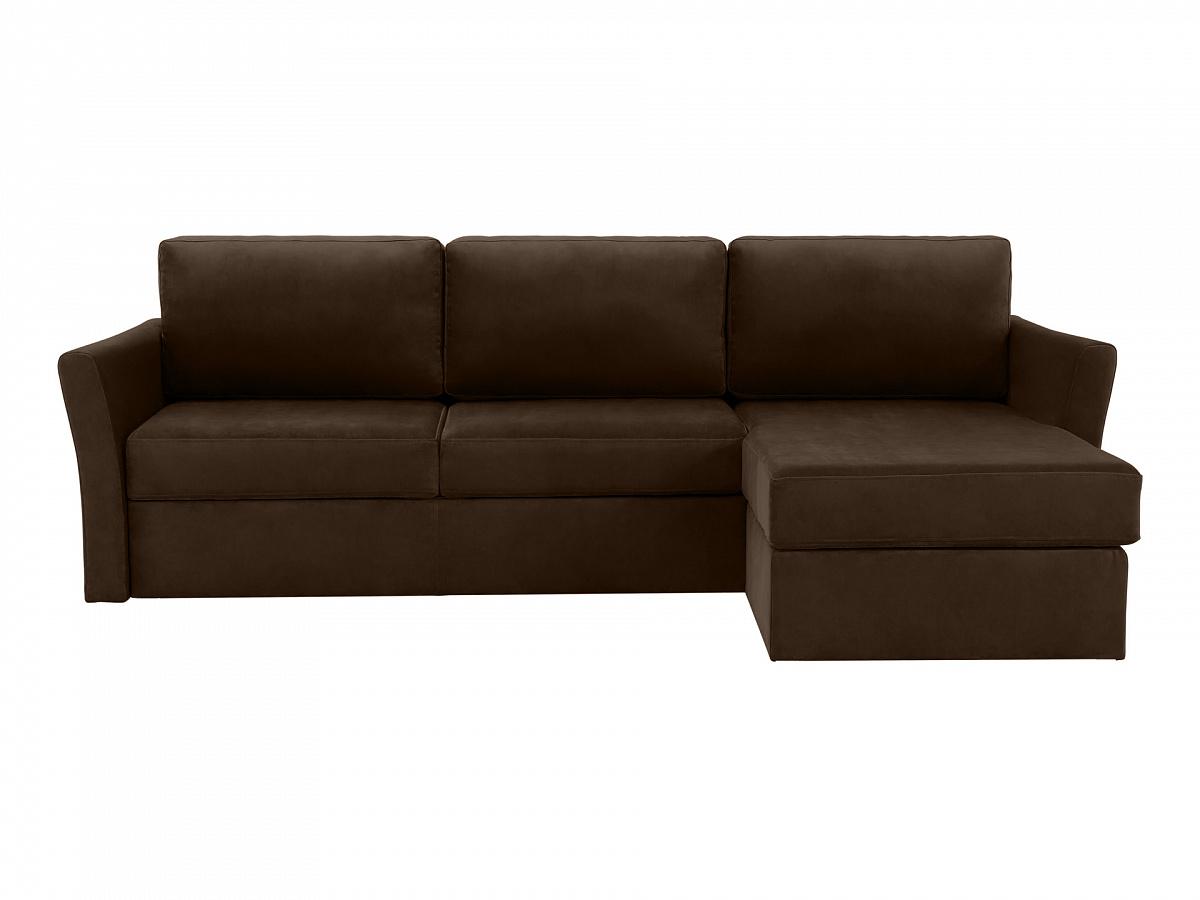 Ogogo диван peterhof коричневый 113388/2
