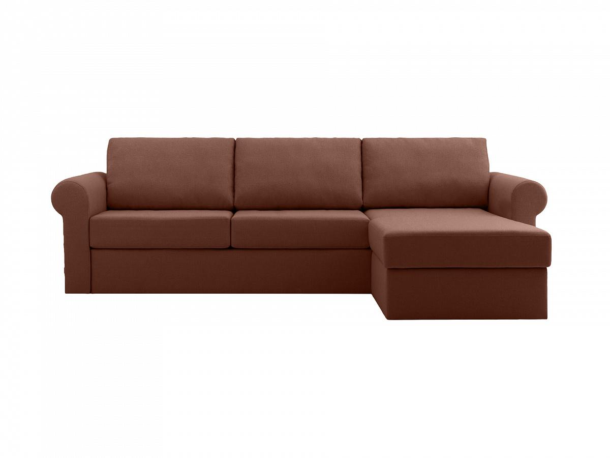 Ogogo диван peterhof коричневый 113398/8