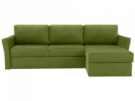 Диван peterhof (ogogo) зеленый 282x88x170 см.