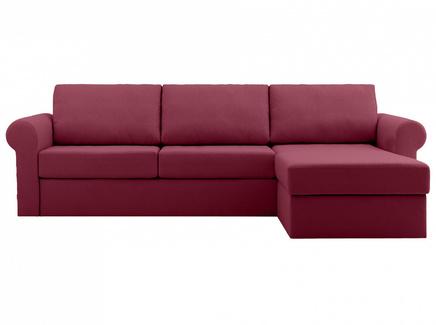 Диван peterhof (ogogo) красный 282x88x170 см.