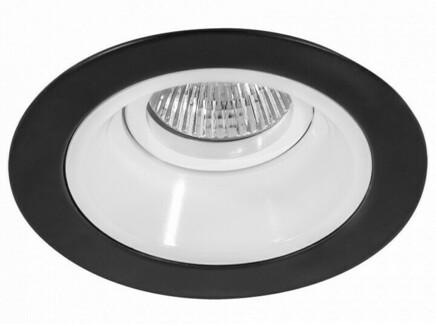 Встраиваемый светильник domino (lightstar) черный