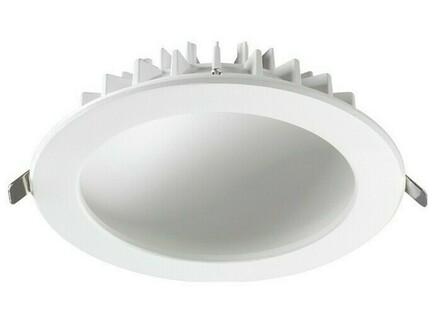 Встраиваемый светильник gesso (novotech) белый