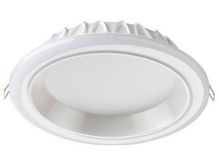 Встраиваемый светильник joia (novotech) белый