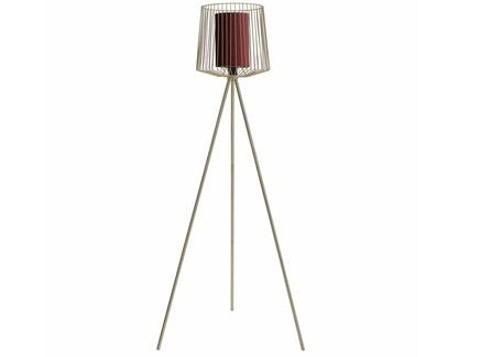 Лампа напольная ansalonga (to4rooms) золотой 63x133x57 см.