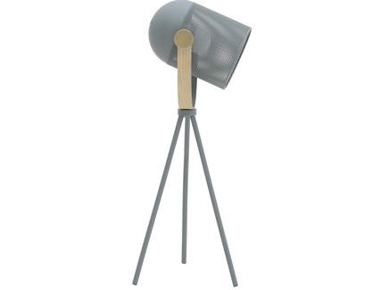 Лампа настольная yeghen (to4rooms) серый 20x53x20 см.