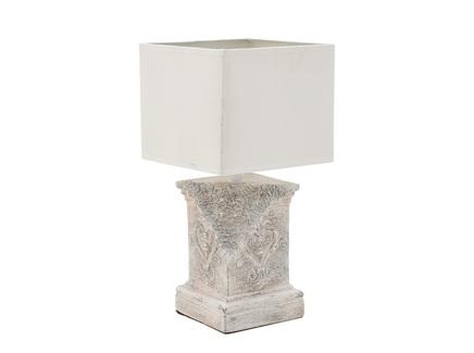 Лампа настольная bronnoysund (to4rooms) бежевый 20x40x20 см.