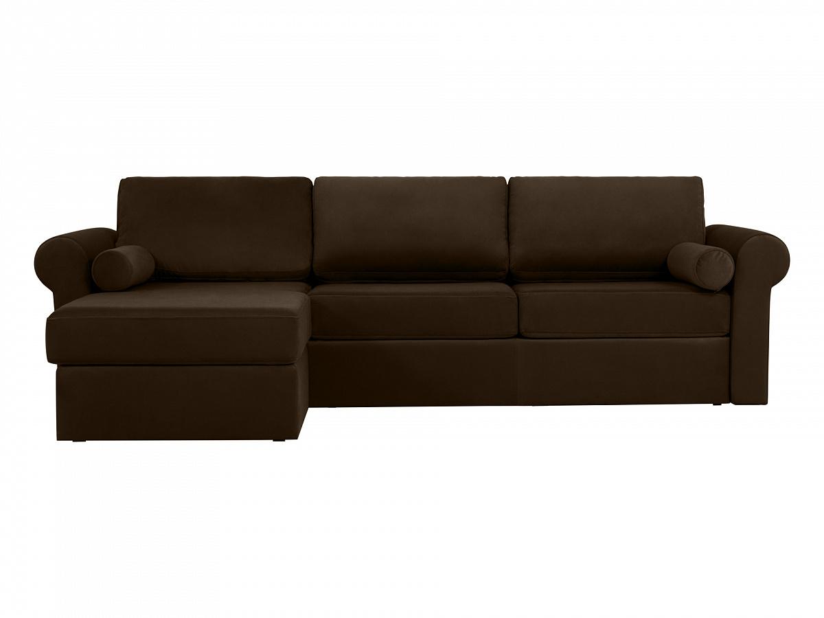 Ogogo диван peterhof коричневый 113717/1