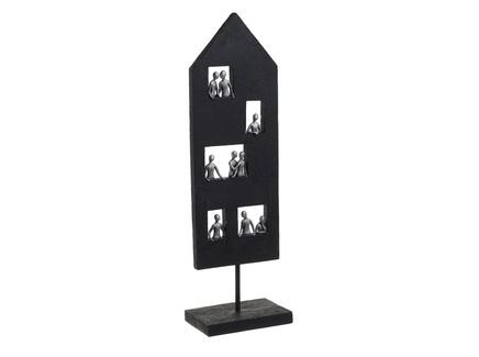 Декор настольный selanam (to4rooms) черный 15x49x5 см.