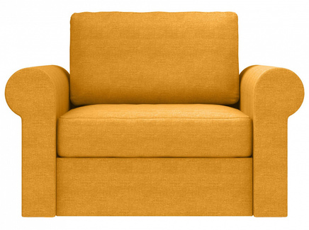 Кресло peterhof (ogogo) желтый 124x88x96 см.