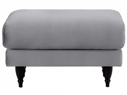 Пуф italia (ogogo) серый 78x46x57 см.