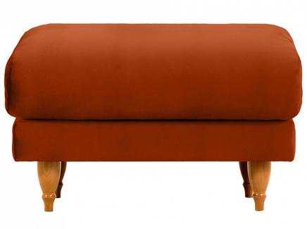 Пуф italia (ogogo) коричневый 78x46x57 см.