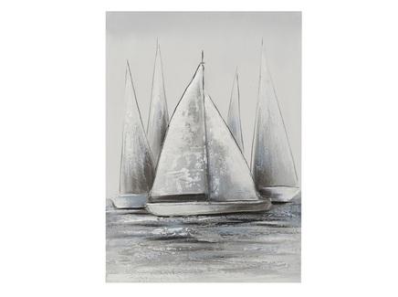 Картина на подрамнике enghien (to4rooms) серый 50x70x3 см.