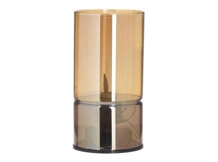 Подсвечник-свеча с led summers (to4rooms) оранжевый 15 см.
