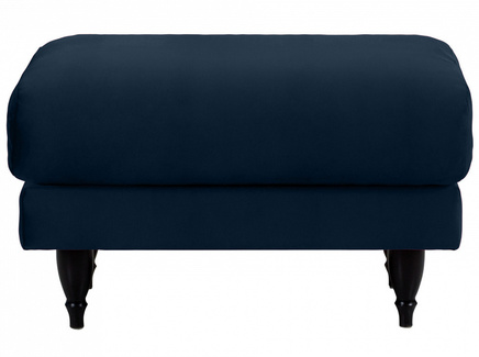 Пуф italia (ogogo) синий 78x46x57 см.