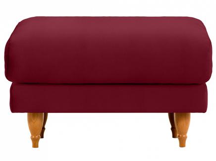 Пуф italia (ogogo) красный 78x46x57 см.