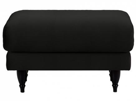 Пуф italia (ogogo) черный 78x46x57 см.