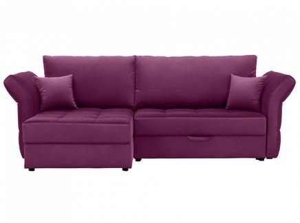 Диван wing (ogogo) фиолетовый 254x94x155 см.