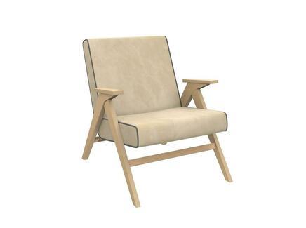 Кресло для отдыха вест (milli) бежевый 64.0x80.0x80.0 см.