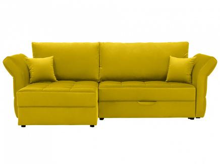Диван wing (ogogo) желтый 254x94x155 см.