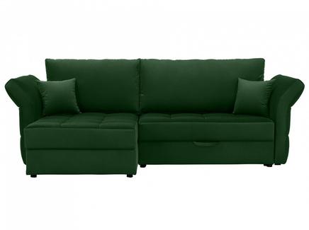 Диван wing (ogogo) зеленый 254x94x155 см.
