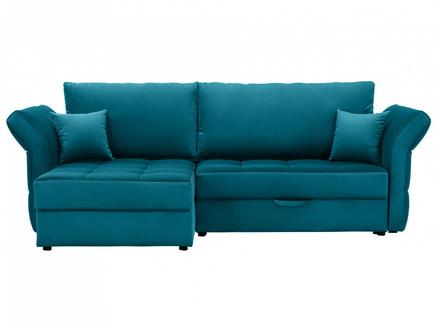 Диван wing (ogogo) голубой 254x94x155 см.