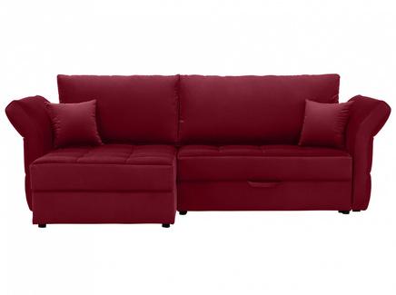 Диван wing (ogogo) красный 254x94x155 см.