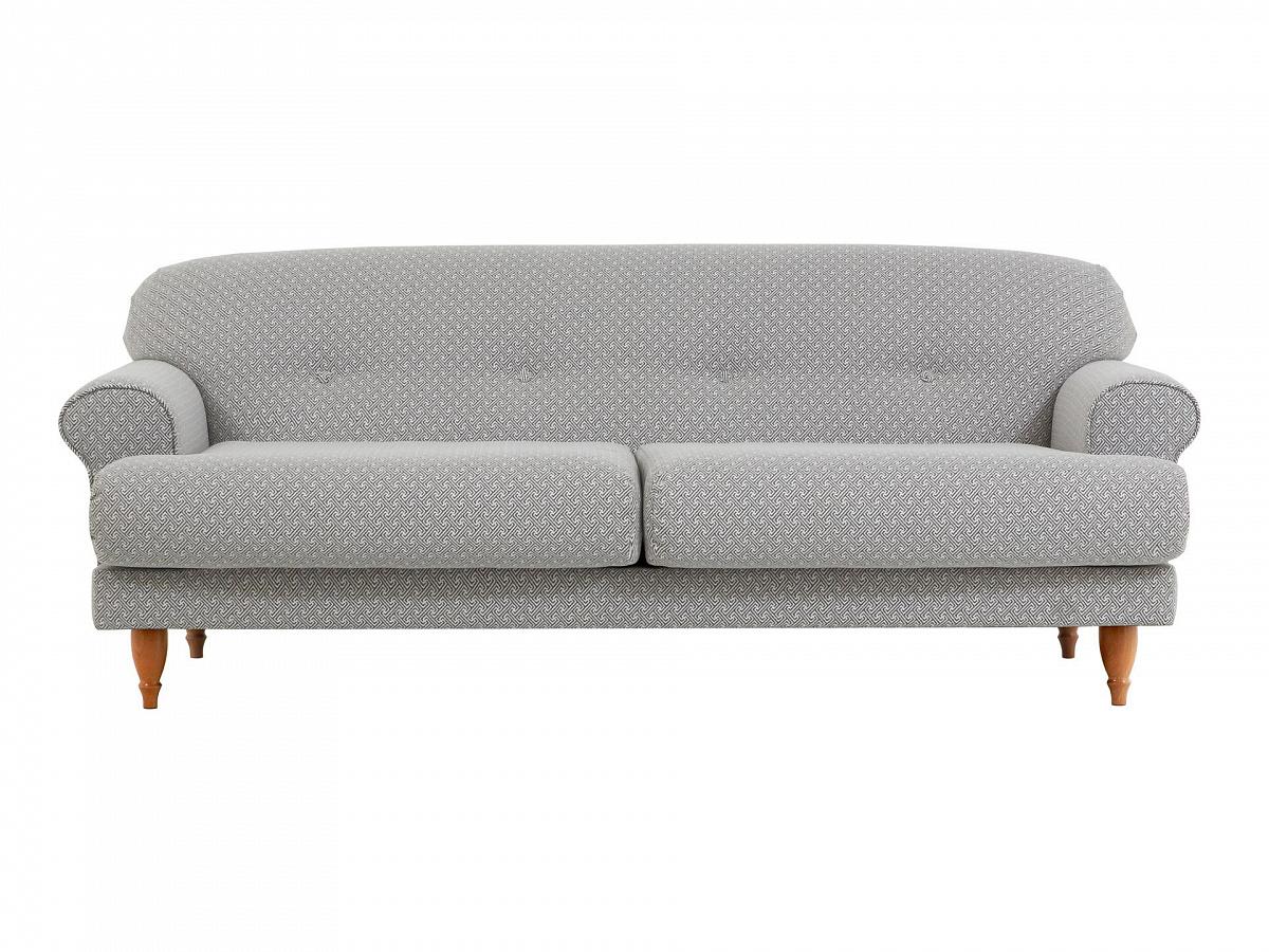 Ogogo диван italia серый 114175/3