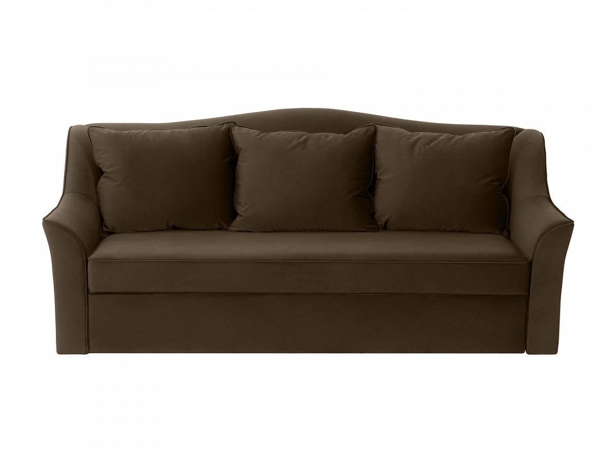 Ogogo диван-кровать vermont коричневый 114566/9
