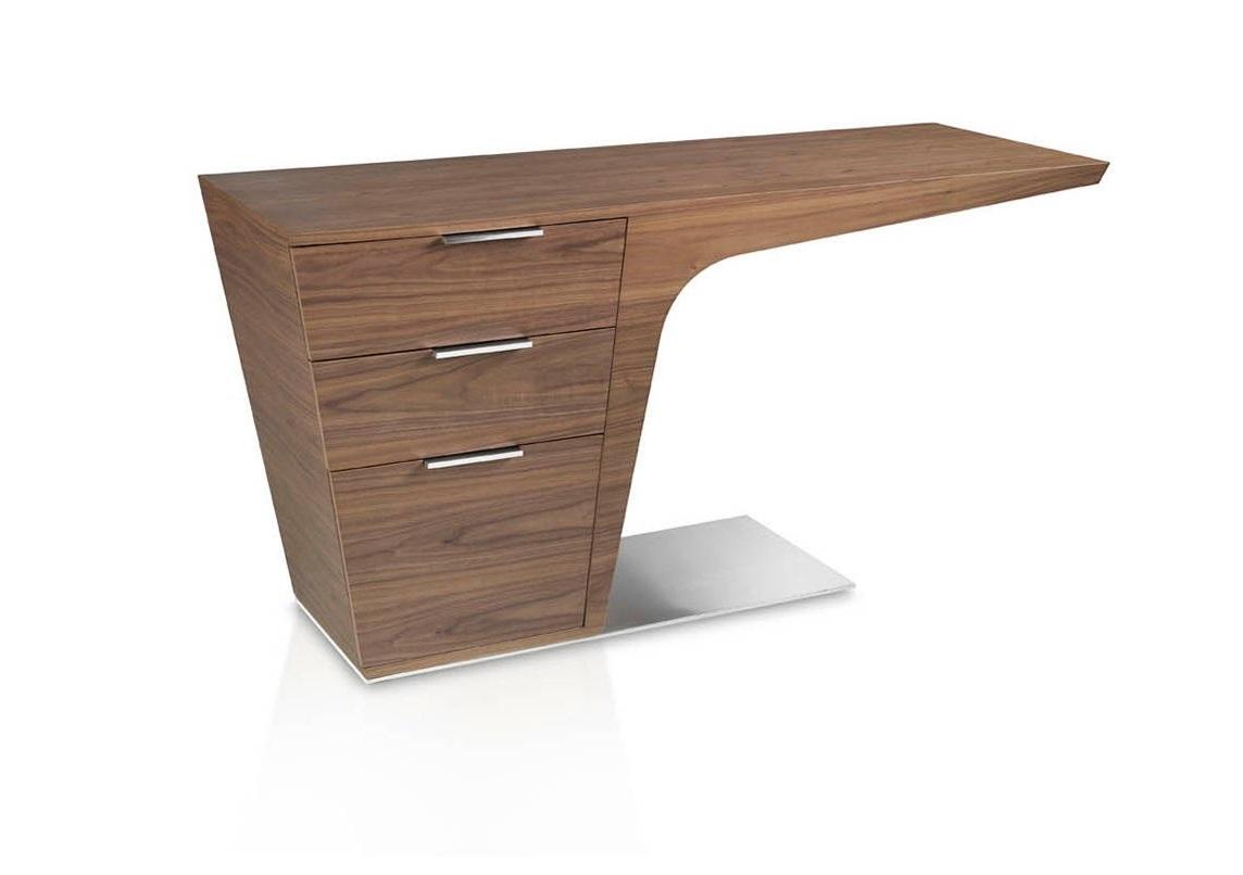 Письменный стол belleza (angel cerda) коричневый 150x75x60 см.