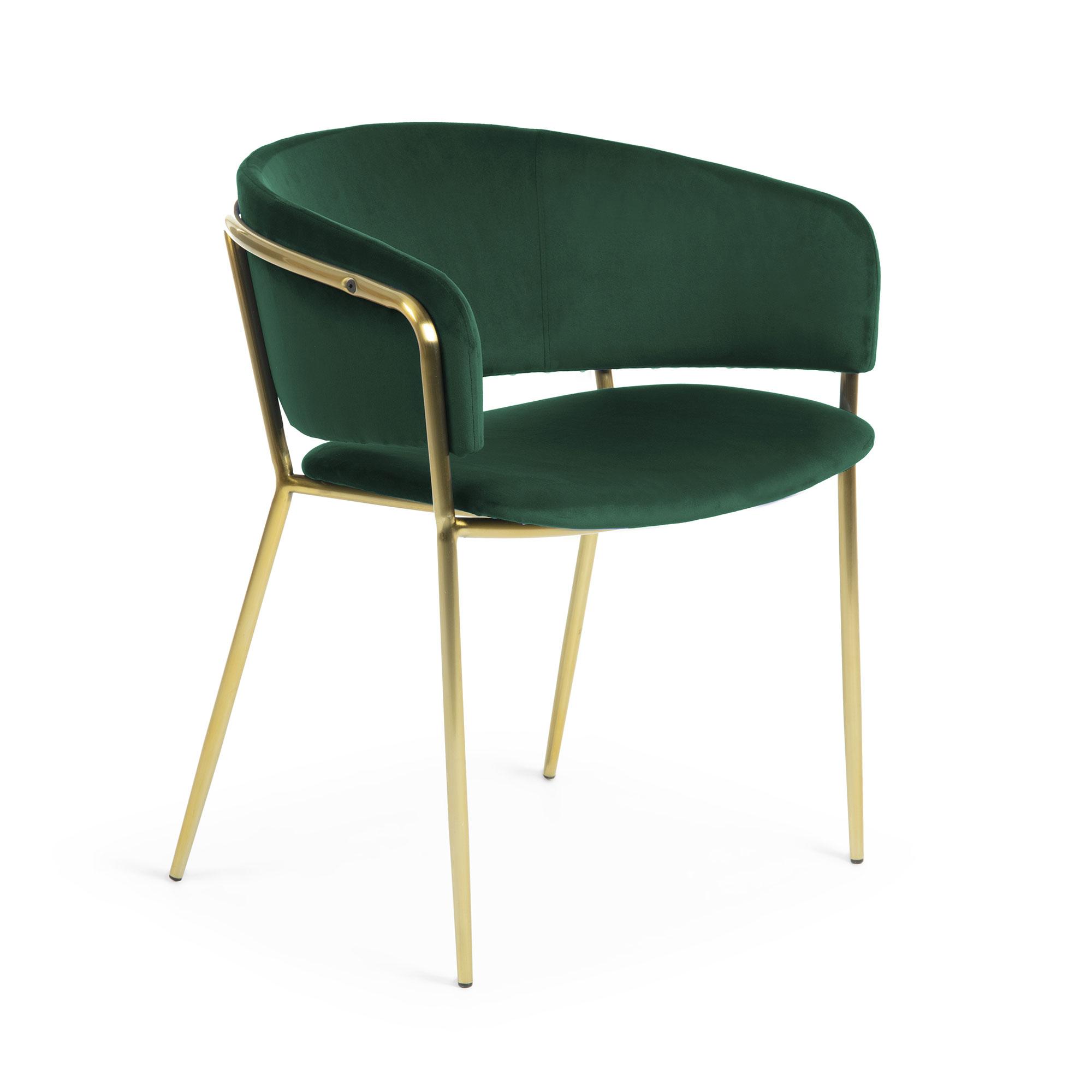 Стул konnie (la forma) зеленый 55x73x48 см.