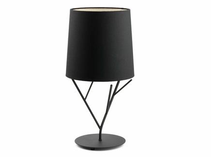 Настольная лампа tree (faro) черный
