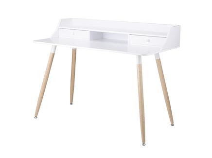 Стол офисный рallotta (berg) белый 120x60x92 см.