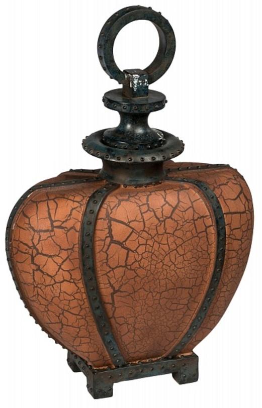 Ваза настольная CK Montego BottleВазы<br>Отделка: искусственный камень<br><br>Material: Камень<br>Length см: None<br>Width см: 42<br>Depth см: 20<br>Height см: 60