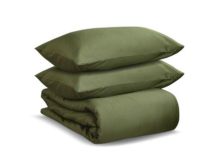 Комплект постельного белья wild (tkano) зеленый 200x220 см.