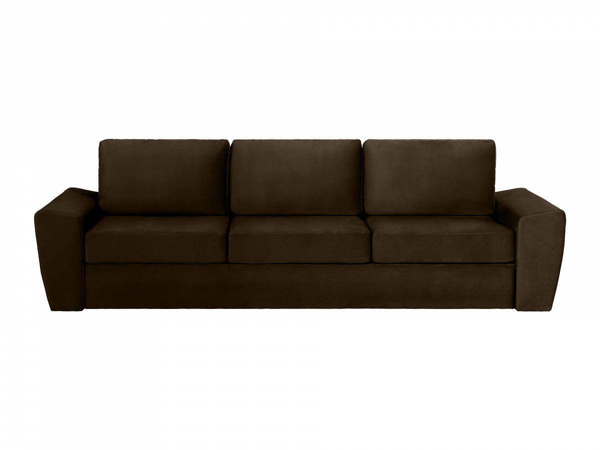 Ogogo диван peterhof коричневый 114831/3