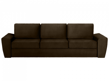 Диван peterhof (ogogo) коричневый 271x88x96 см.