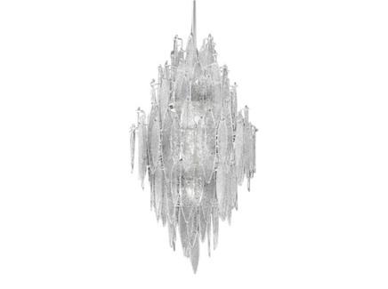 Люстра (delight collection) серебристый 55x70x55 см.
