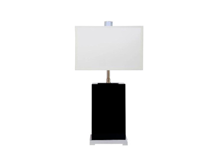 Настольная лампа (delight collection) черный 26x54x20 см.